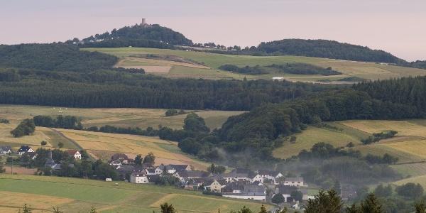 Blick auf Nürburg