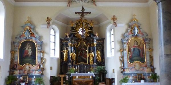 Chor der Berghauser Kapelle