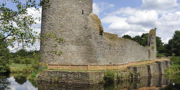 Ruine Wasserburg Baldenau