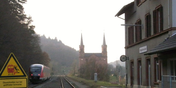 Zugausfahrt in Wilgartswiesen