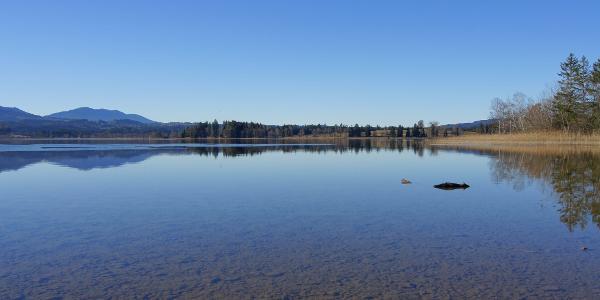 Blick in den westlichen Teil des Staffelsees
