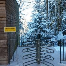 Die Klamm ist im Winter offiziell geschlossen