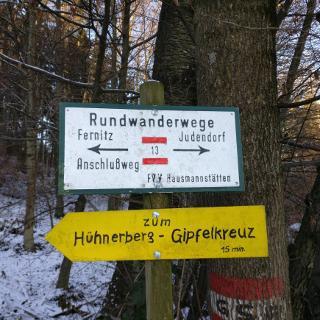 """""""Einstieg"""" am Hühnerberg"""