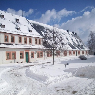 Jugendherbrge Schloss Augustusburg im Winter