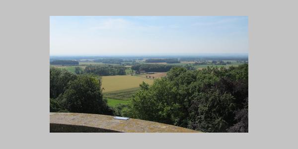 Blick vom Höxberg Richtung Möhnesee