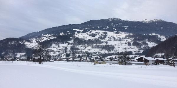 Winterwandern in Schruns