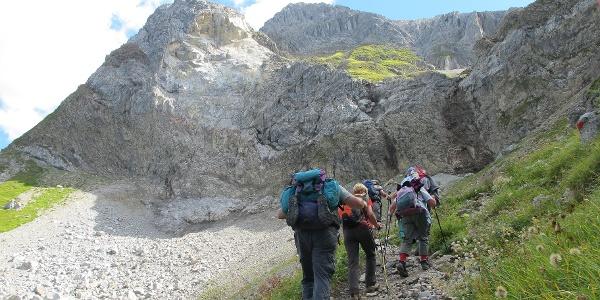 Bergsturz am Grießkopf (9.11.2012)