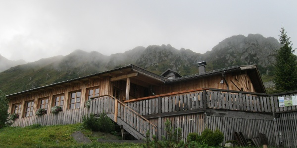 Start bei der Porzehütte