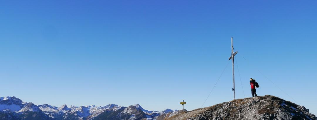 Der Gipfel der Gaichtspitze
