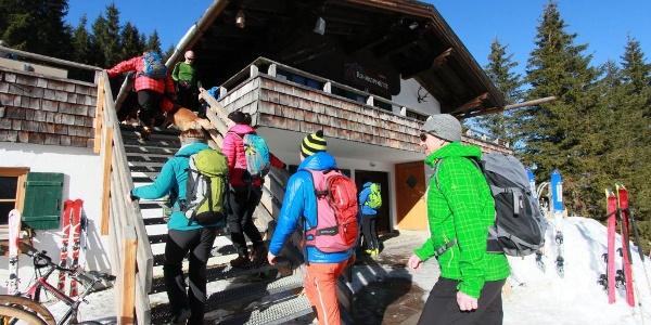 Rohrkopfhütte Winter