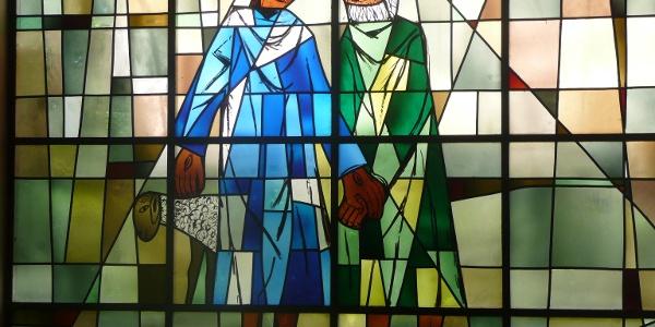 Dix-Fenster in der Petruskirche