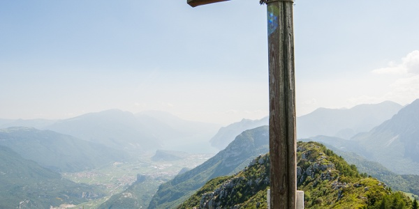 Der Gipfel des Monte Brento
