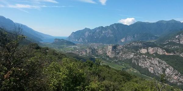 Panorama sull'Alto Garda