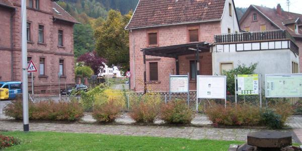 Elmstein Tourismusinformationstafeln