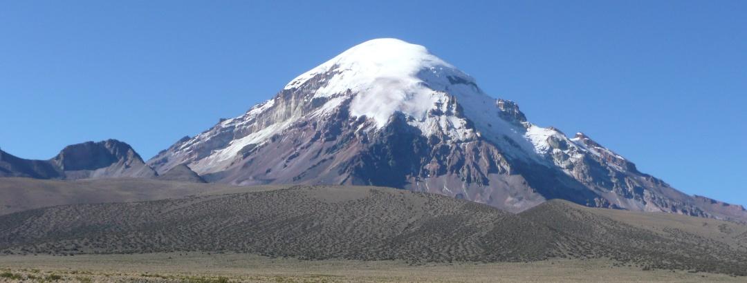 Nevado Sajama, August 2010