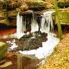 Der Tretstein-Wasserfall ist in der Region Main-Spessart einmalig