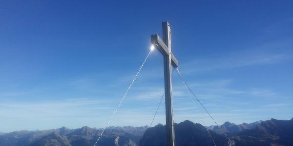 Gipfelkreuz Hangspitze