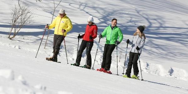 Schneeschuhwandern in Lackenhof