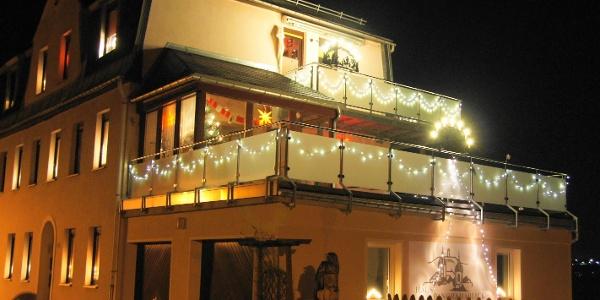 Haus Panoramablick-Weihnachten