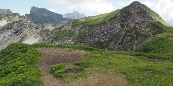 Weg zum Laufbacher Eck