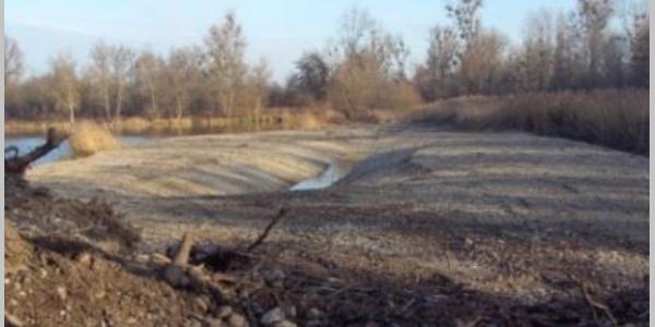 """Neuer angelegter Teich """"im Rohbau"""""""
