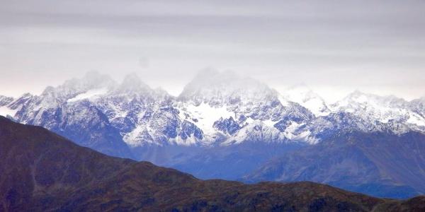 Neuschnee in den Zentralalpen  (14. Sep. 2010)