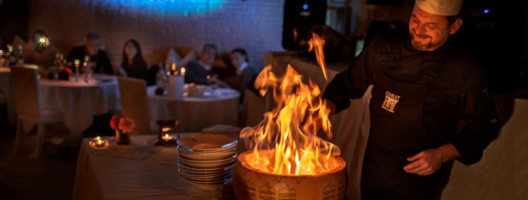 Kulinarischer Genuss im Trentino