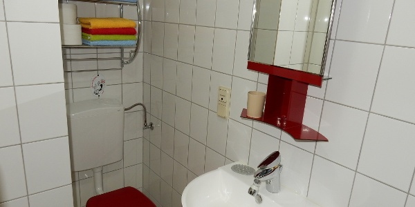 Appartment Viole, Bad