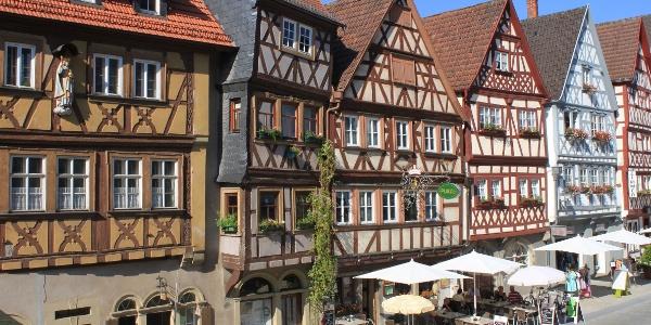 Fachwerkzeile in Ochsenfurt