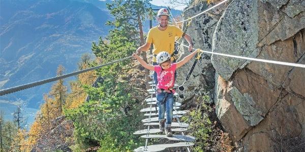 Klettersteig Unterstell
