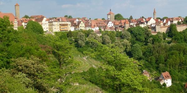 Rothenburg Stadtansicht