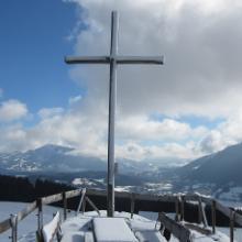 Gipfelkreuz des Juget-Alpe-Köpfles