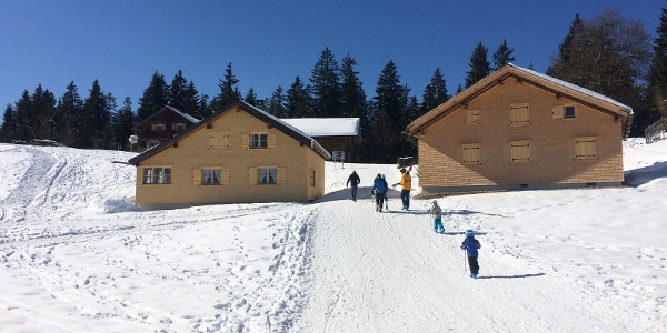 Weg zur Oberlose Talstation
