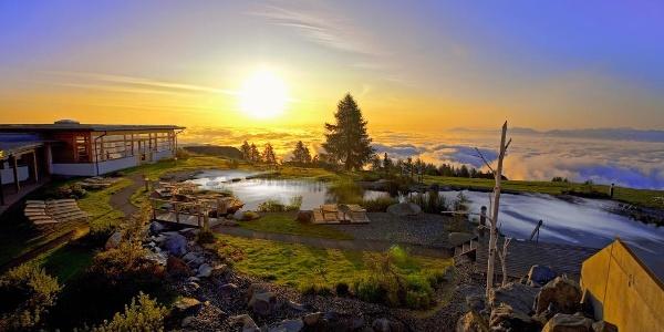 Sonnenaufgang auf der Gerlitzen