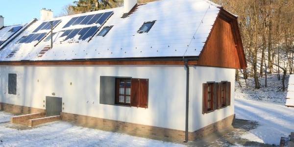 A ház télen