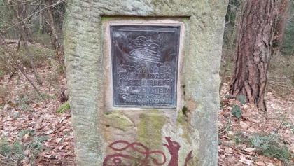 Sandsteindenkmal des Druidenstein