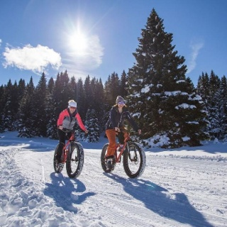 Fat Bike sull'Alpe Cimbra