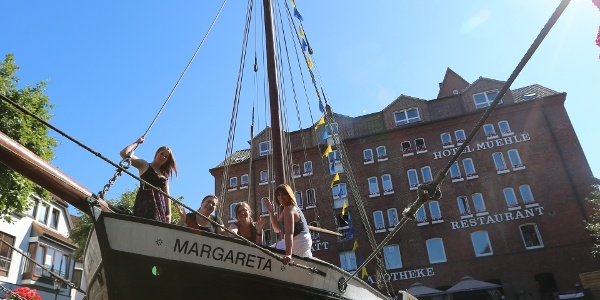 Ewer Margareta - Mühle Hansestadt Buxtehude