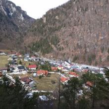 Talstation Feuerkogel-Seilbahn vom Katzenwoferlklaus-Wanderweg
