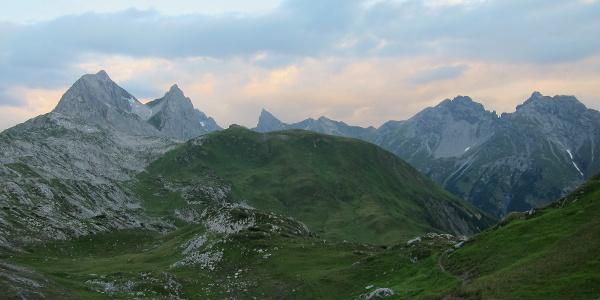Am Weg zur Erlachalpe (17. August 2013)