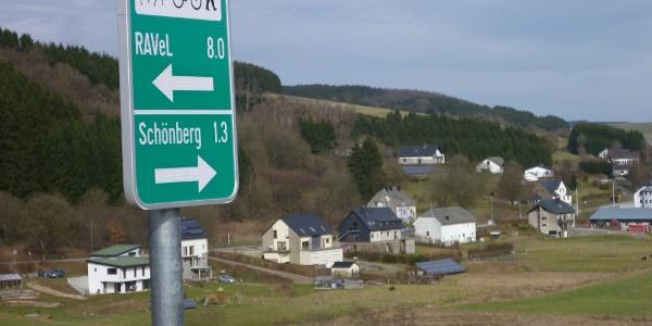 Vennbahn-Anschluss Schönberg-Steinebrück