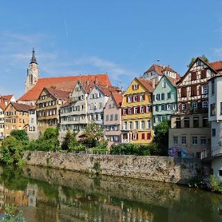 Blick auf Tübinger Innenstadt