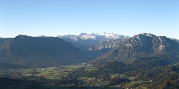 Bad Aussee und Dachstein, Aussicht von der Loserhütte