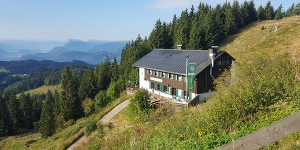 Ausgangs- und Endpunkt Spitzsteinhaus