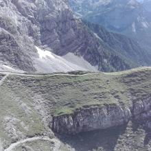 Wanderabschnitt auf dem Weg zur Wiener-Neustädter Hütte