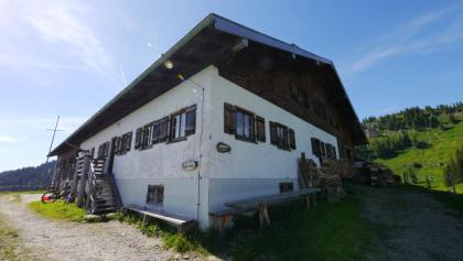 Blick auf die Spicherhalde-Alpe