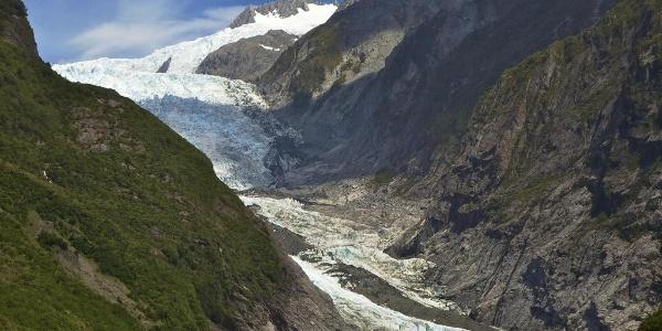 Franz Josef Gletscher im Jahr 2011