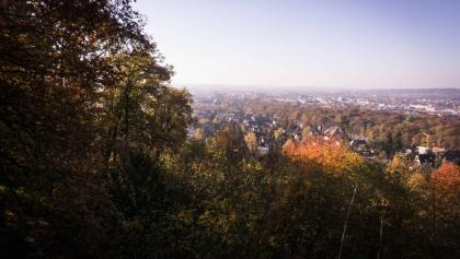 Aschaffenburg vom Godelsberg aus gesehen