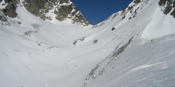 Flacher Weg Richtung Fuorcla Vermunt (2798 m)
