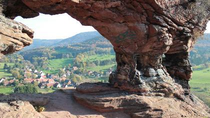 Vue sur Obersteinbach © D.Lett